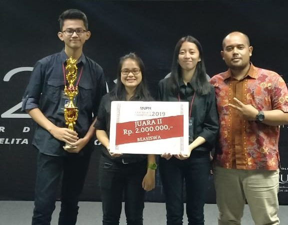 Juara 2 Law Debate Competition