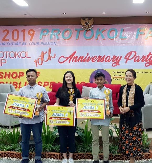 Juara 2 Lomba Fotografi Protokol Fair 2019