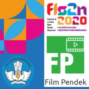 Juara 2 film pendek FLS2N 2020 tingkat Provinsi