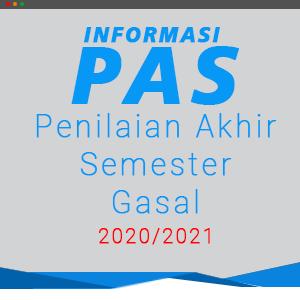 Informasi Penilaian Akhir Semester Gasal 2020/2021