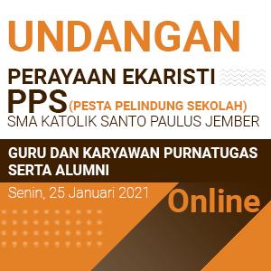 Undangan Perayaan Ekaristi Pesta Pelindung Sekolah (PPS) 2021
