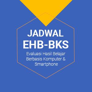 Jadwal EHB-BKS Kelas XII Tahun Pelajaran 2020/2021
