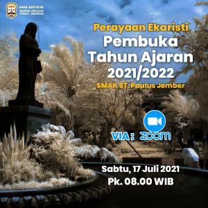 Perayaan Ekaristi Pembuka Tahun Pelajaran 2021/2022