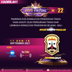 Hadirilah EXPO PT/LKP ke 22